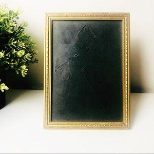 Vintage Gold Colour Frame for 17cm x 12 cm Photo